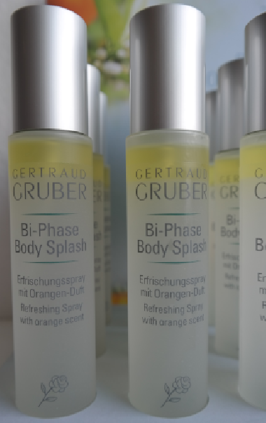 Bi-Phase Body Splash von Gertraud Gruber Kosmetik